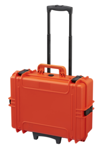 Max 505S orange with trolley