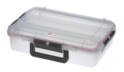 Max 004 with 3 compartments transparent